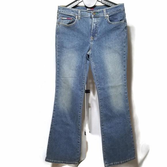 Tommy Hilfiger Stretch Authentic Jill Jeans EUC